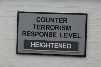 Counter Terrorism Response Level: Heightened