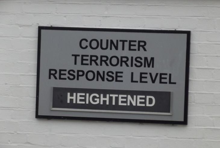 Counter Terrorism Response Level: Heightened