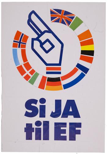 Ja til EF - plakat