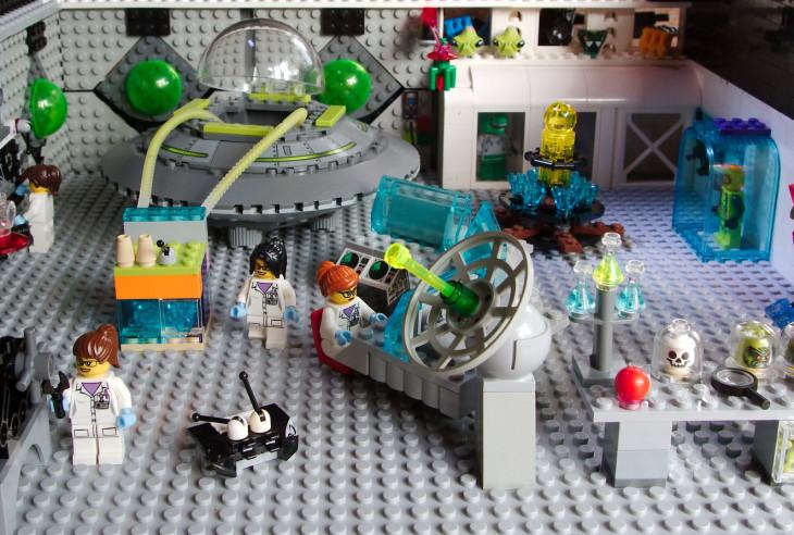 Alien research lab