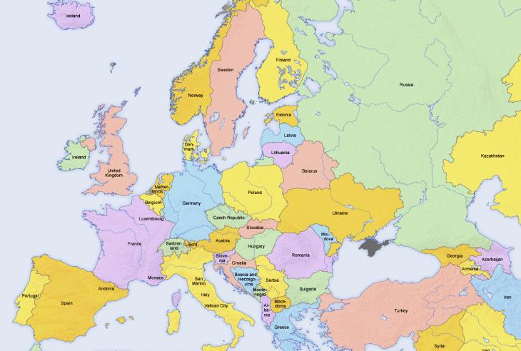 Hva er EUs grenser?