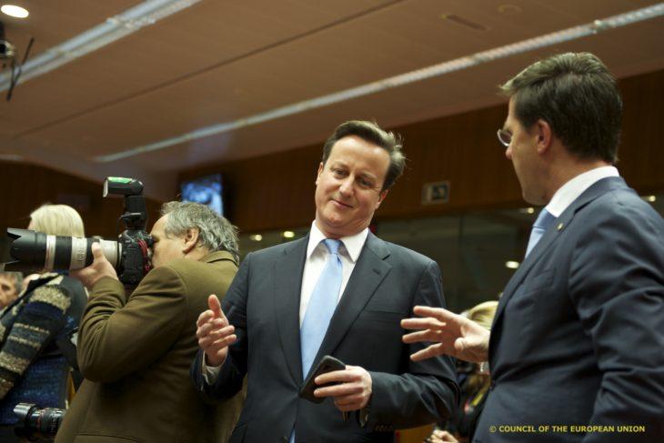 British Prime Minister, David Cameron, and Dutch Prime Minister, Mark Rutte