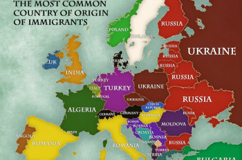 Immigration in Europe (2013)