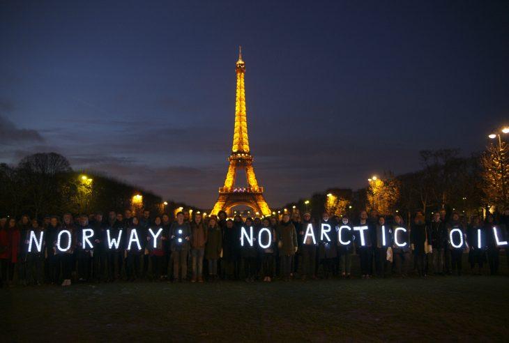 Natur og Ungdom på klimatoppmøtet i Paris